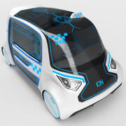 電気自動車タクシー 3d model