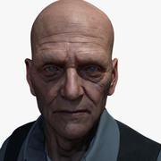 Male Face 3d model
