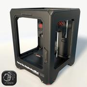 Makerbot Mini 3D printer low poly 3d model