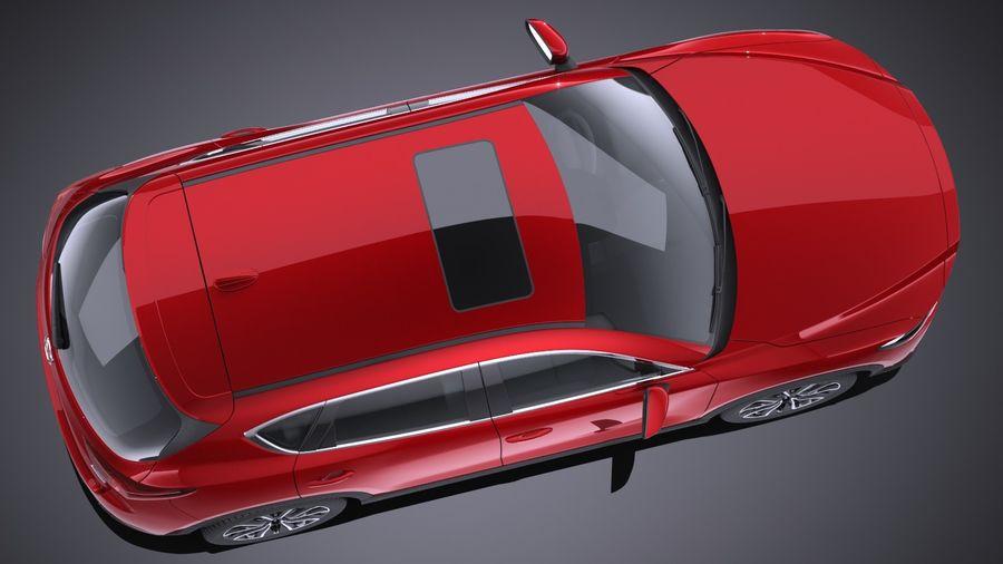 马自达CX-5 2017 royalty-free 3d model - Preview no. 8