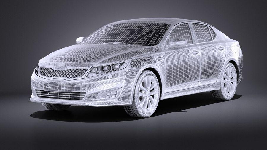 Kia Optima Spor Paketi 2015 VRAY royalty-free 3d model - Preview no. 13
