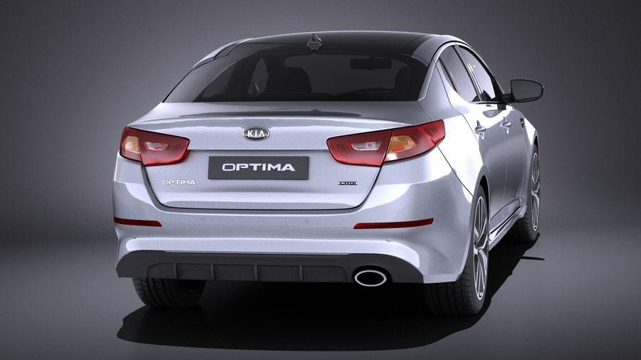 Kia Optima Sportpaket 2015 VRAY royalty-free 3d model - Preview no. 5