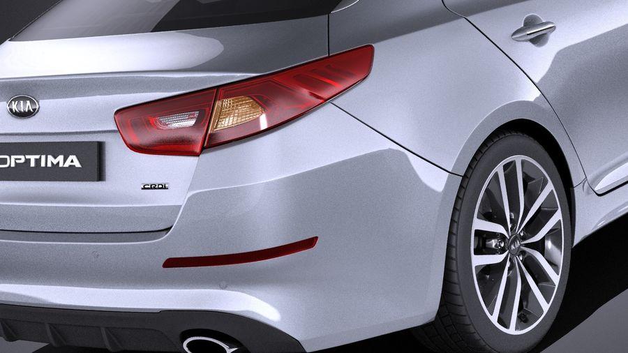 Kia Optima Sportpaket 2015 VRAY royalty-free 3d model - Preview no. 4