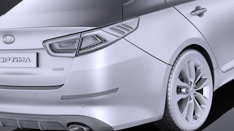 Kia Optima Sportpaket 2015 VRAY royalty-free 3d model - Preview no. 11