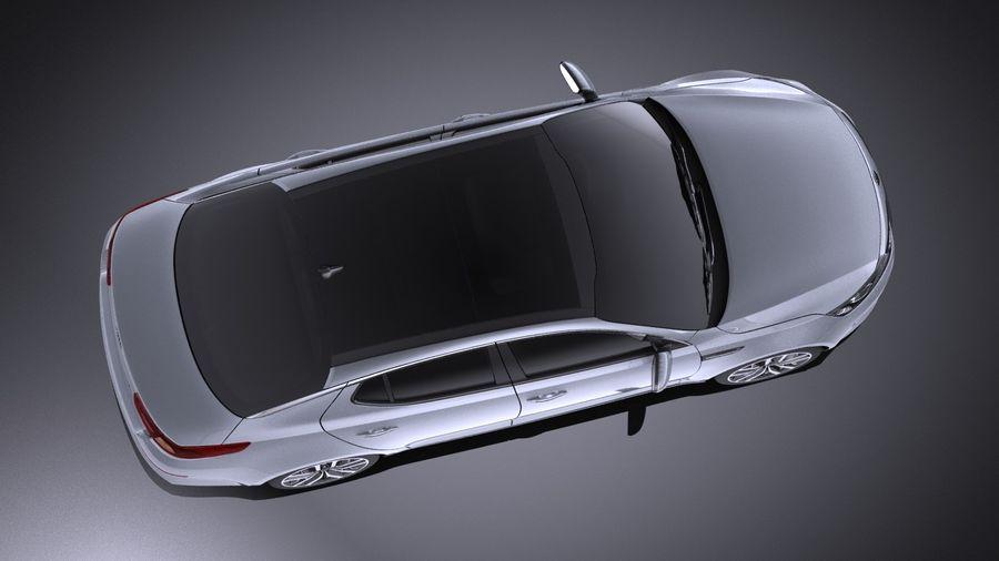 Kia Optima Sportpaket 2015 VRAY royalty-free 3d model - Preview no. 8
