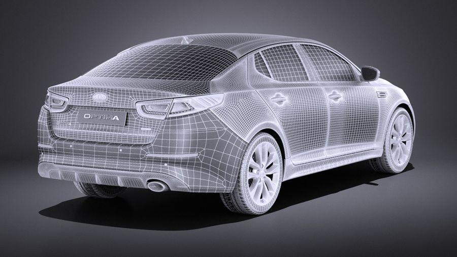Kia Optima Spor Paketi 2015 VRAY royalty-free 3d model - Preview no. 14
