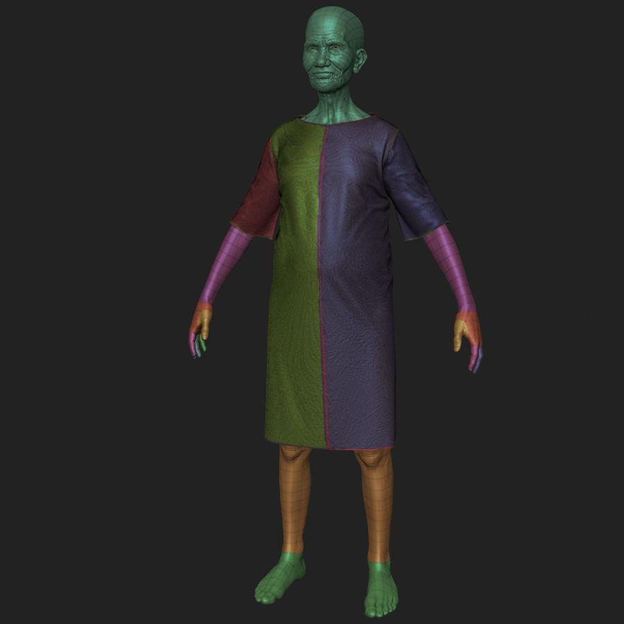 Пациент Старик полный проект royalty-free 3d model - Preview no. 11