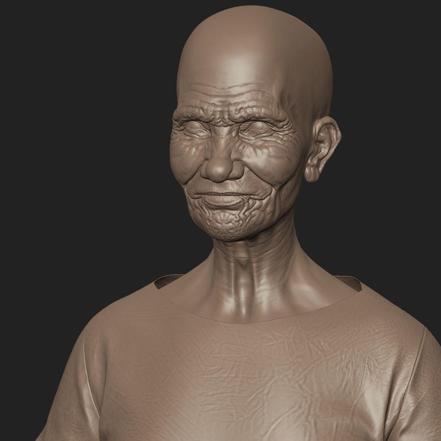 Пациент Старик полный проект royalty-free 3d model - Preview no. 10