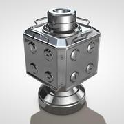 科学家容器 3d model