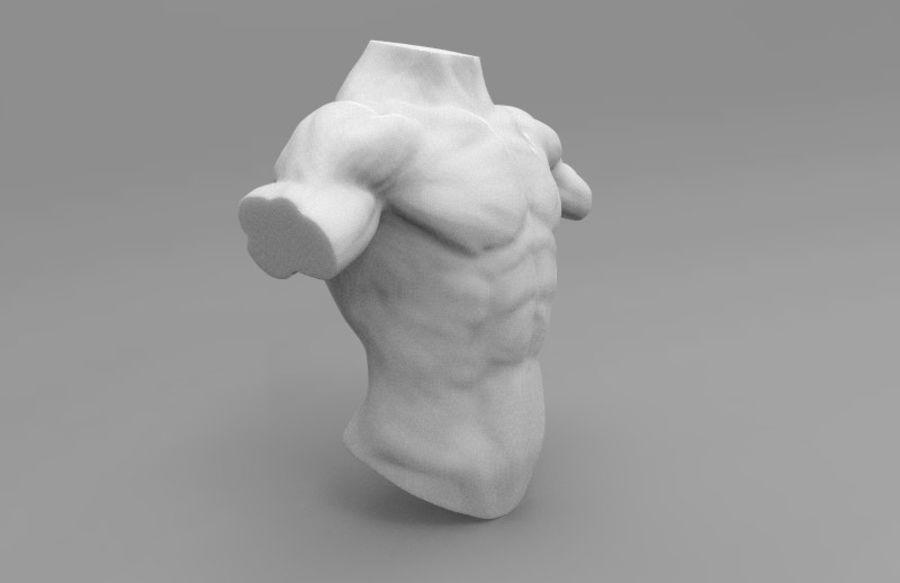 인간의 몸 royalty-free 3d model - Preview no. 3