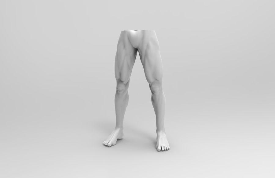 인간의 몸 royalty-free 3d model - Preview no. 7