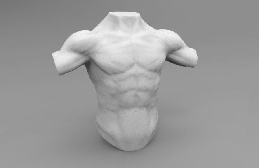 인간의 몸 royalty-free 3d model - Preview no. 2
