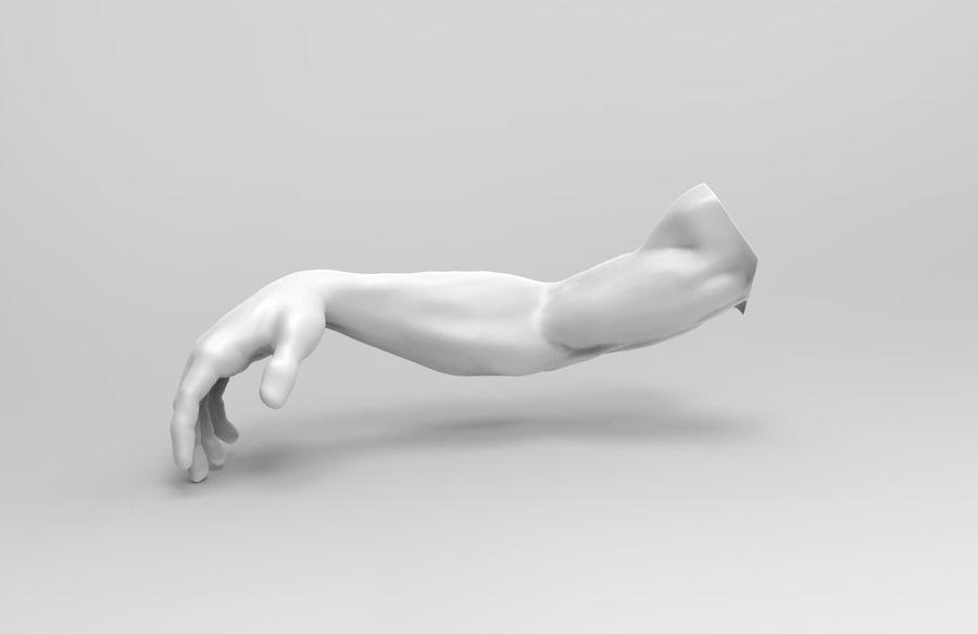 인간의 몸 royalty-free 3d model - Preview no. 6