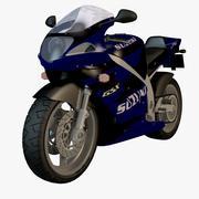 Suzuki schweres Fahrrad 3d model