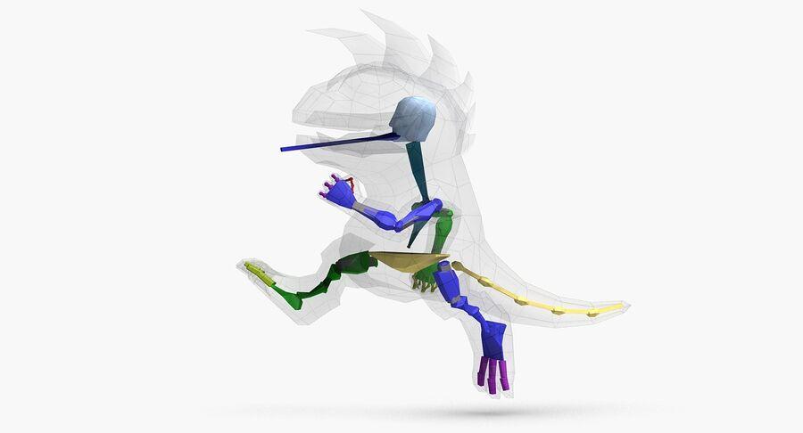 Dragon royalty-free 3d model - Preview no. 17