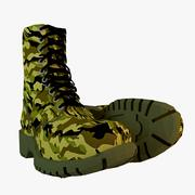 Botas do Exército 3d model