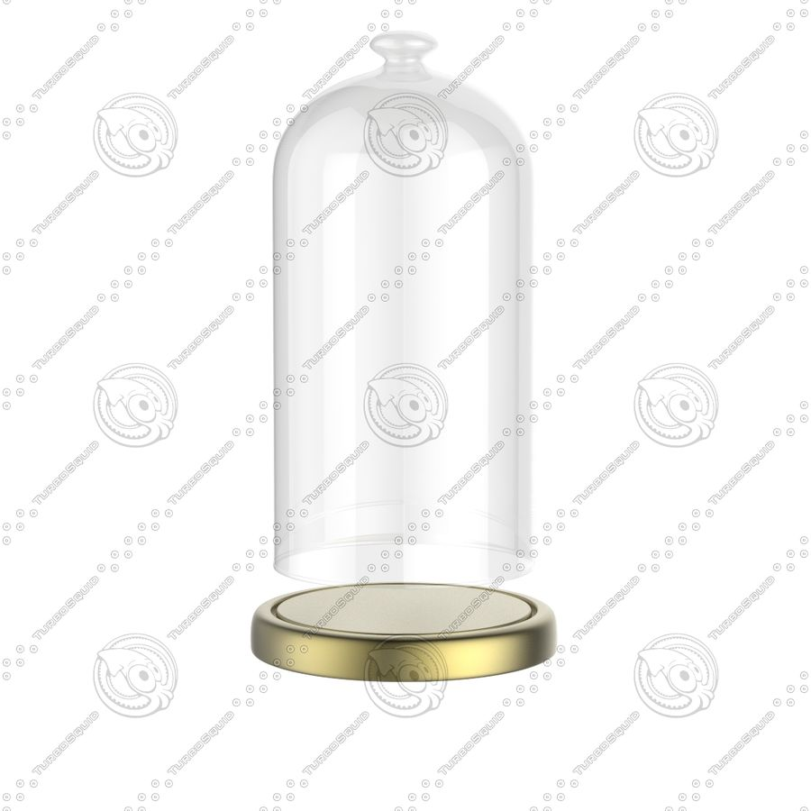 Dome Glass royalty-free 3d model - Preview no. 6