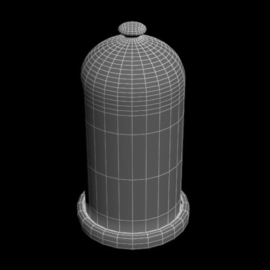 Dome Glass royalty-free 3d model - Preview no. 10