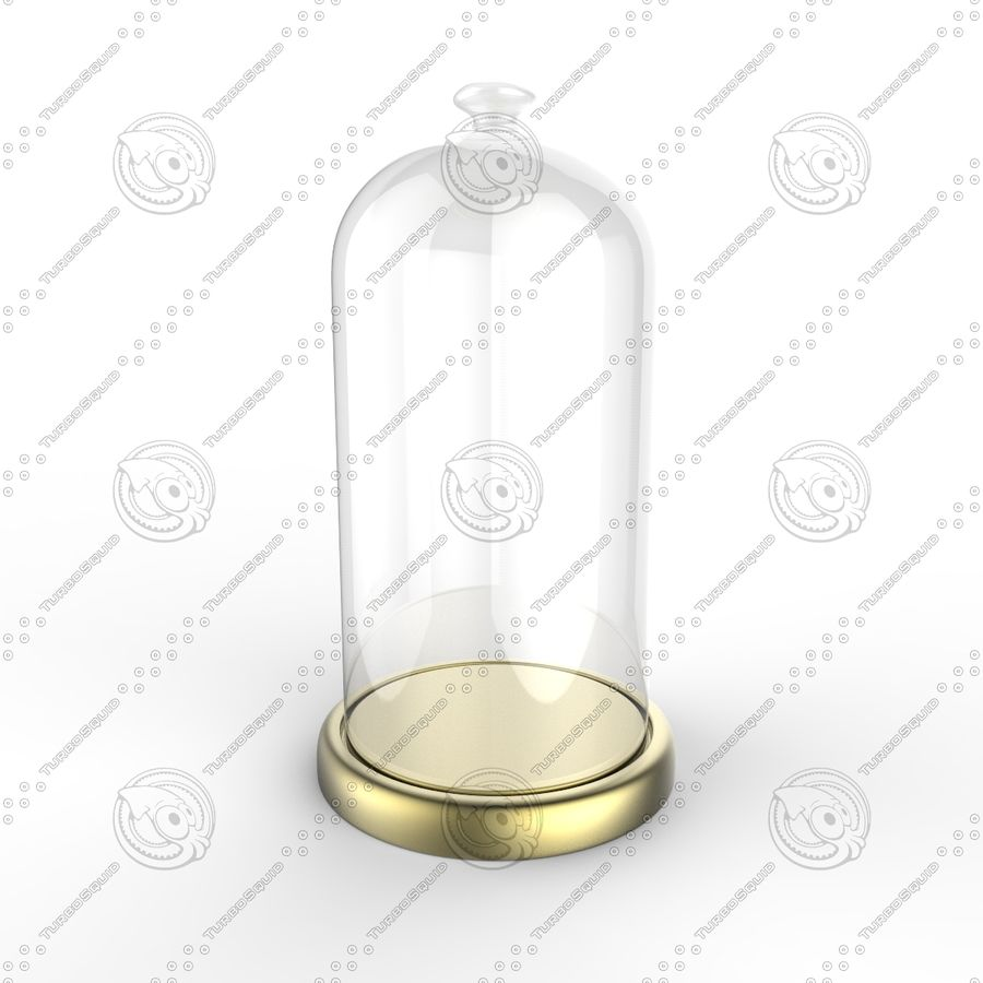 Dome Glass royalty-free 3d model - Preview no. 2