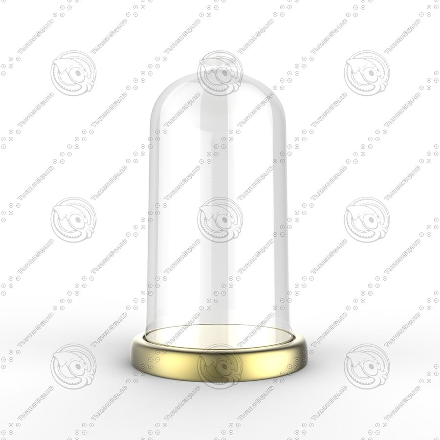 Dome Glass royalty-free 3d model - Preview no. 4