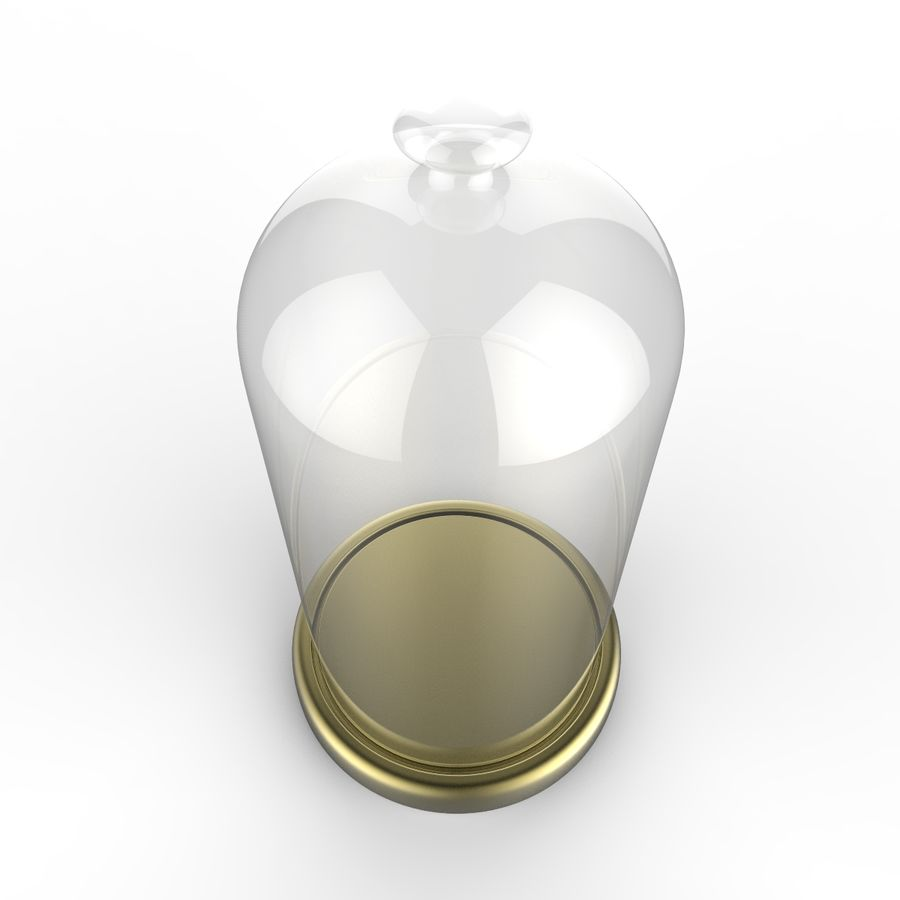 Dome Glass royalty-free 3d model - Preview no. 3