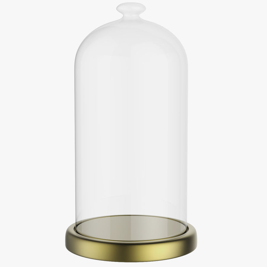Dome Glass royalty-free 3d model - Preview no. 1