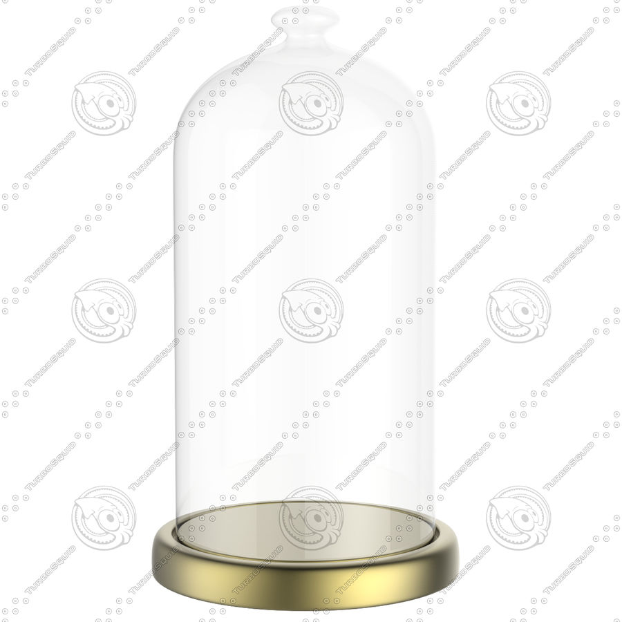 Dome Glass royalty-free 3d model - Preview no. 8