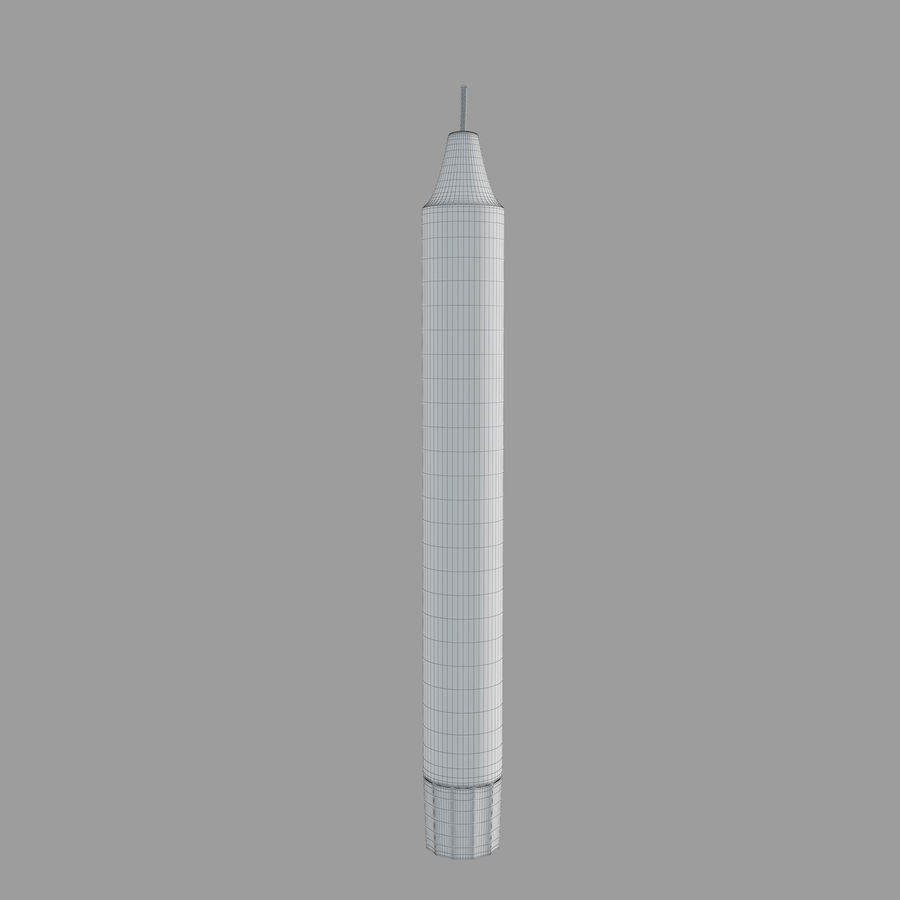 IKEA Enighet Candle Holder royalty-free 3d model - Preview no. 4
