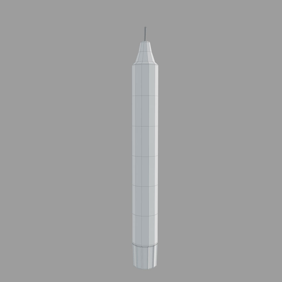 IKEA Enighet Candle Holder royalty-free 3d model - Preview no. 5