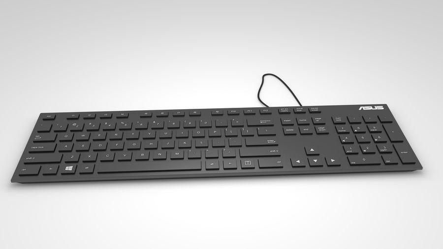 Tastiera del computer royalty-free 3d model - Preview no. 4