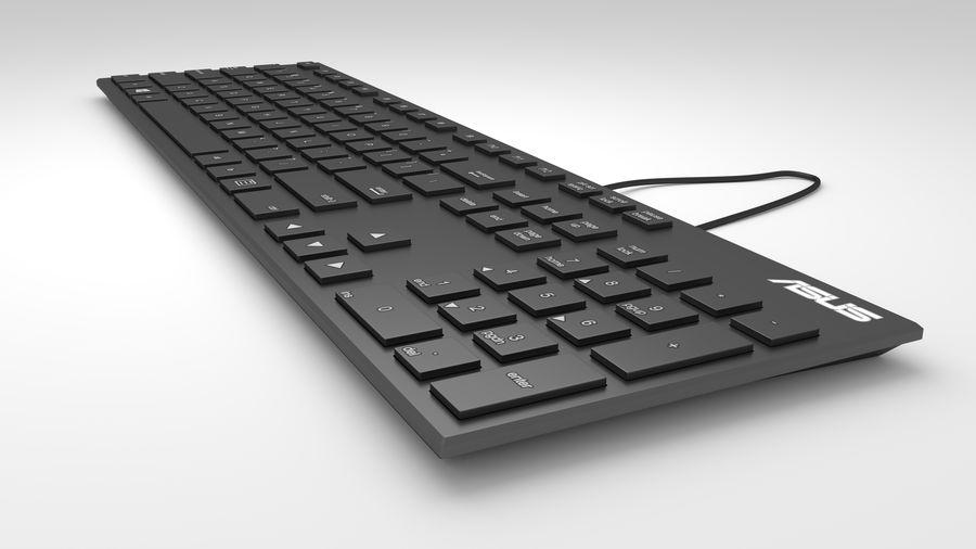 Tastiera del computer royalty-free 3d model - Preview no. 3