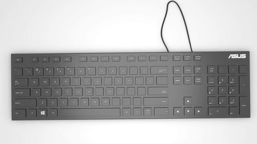 Tastiera del computer royalty-free 3d model - Preview no. 2