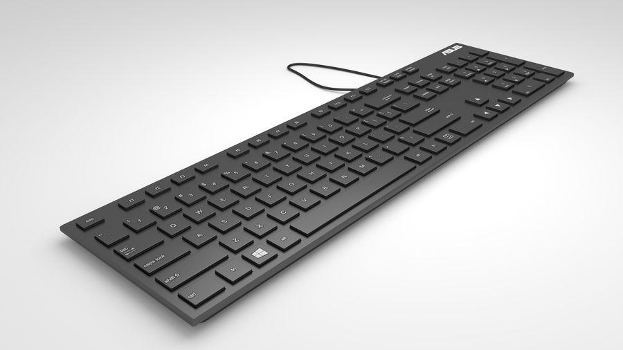 Tastiera del computer royalty-free 3d model - Preview no. 5