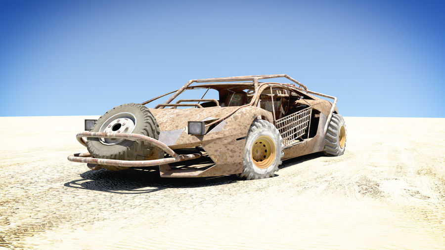 Mad MAX royalty-free 3d model - Preview no. 4