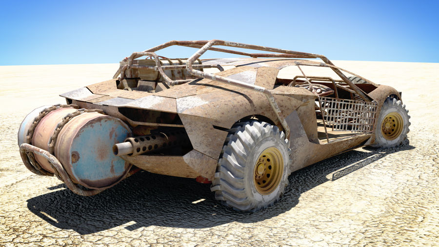 Mad MAX royalty-free 3d model - Preview no. 1