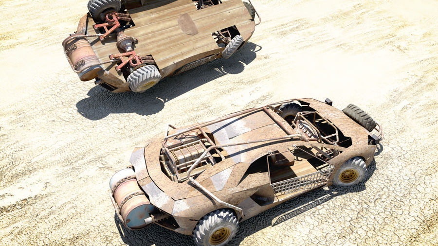 Mad MAX royalty-free 3d model - Preview no. 3