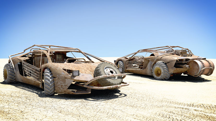 Mad MAX royalty-free 3d model - Preview no. 2
