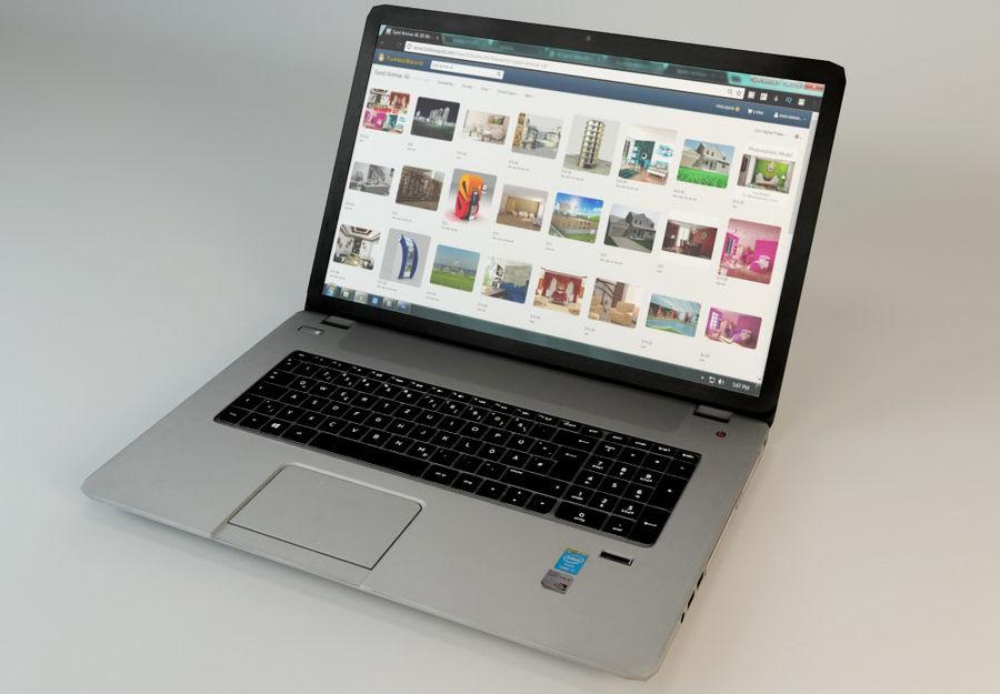 laptop royalty-free 3d model - Preview no. 2