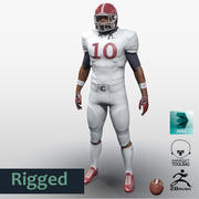 Football Player full Project 3d model