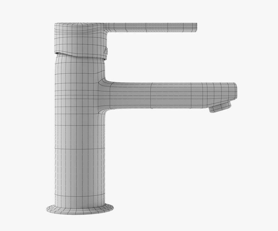 Bathroom Faucet royalty-free 3d model - Preview no. 8