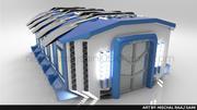 科学研究所 3d model