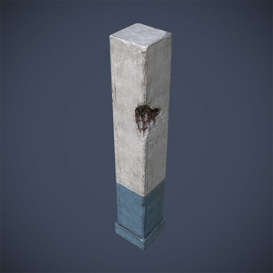 Pelare royalty-free 3d model - Preview no. 4