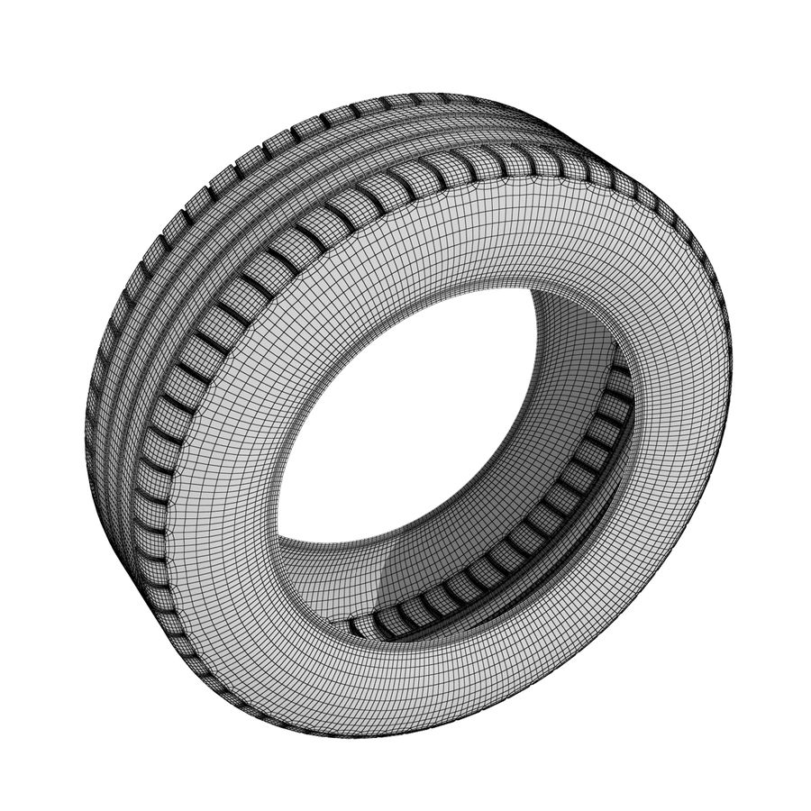 Tire royalty-free 3d model - Preview no. 5