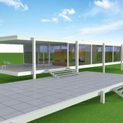 Casa Farnsworth 3d model