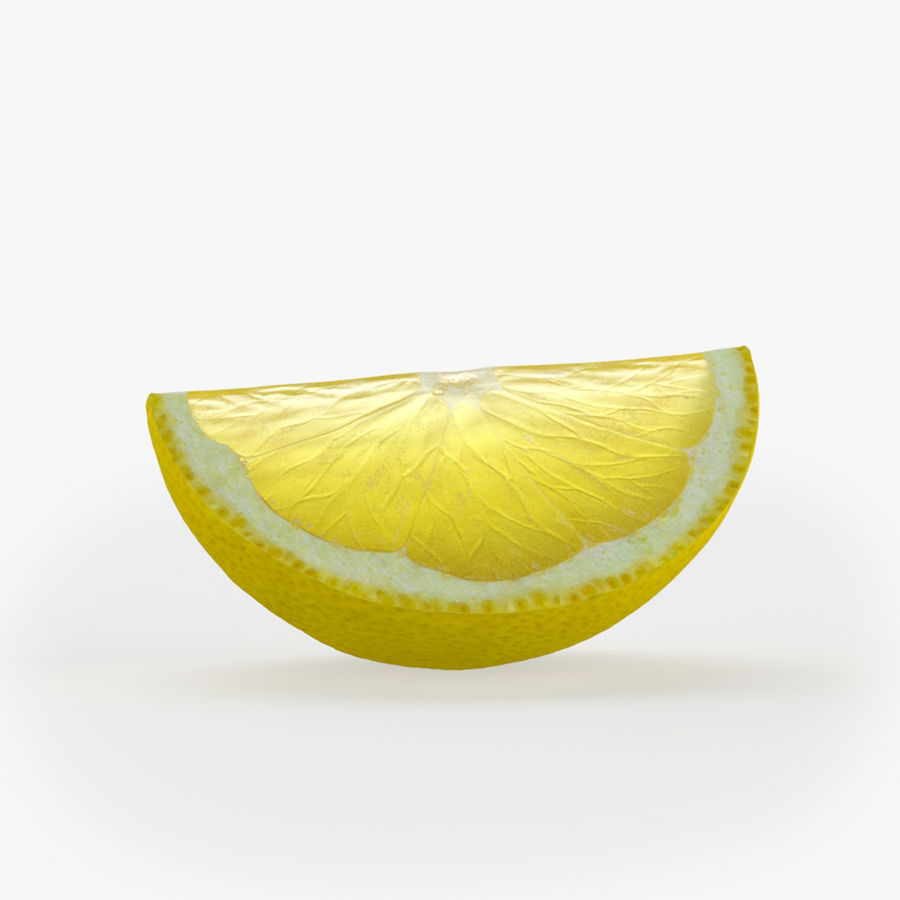 Tipo di frutta al limone 2 royalty-free 3d model - Preview no. 4