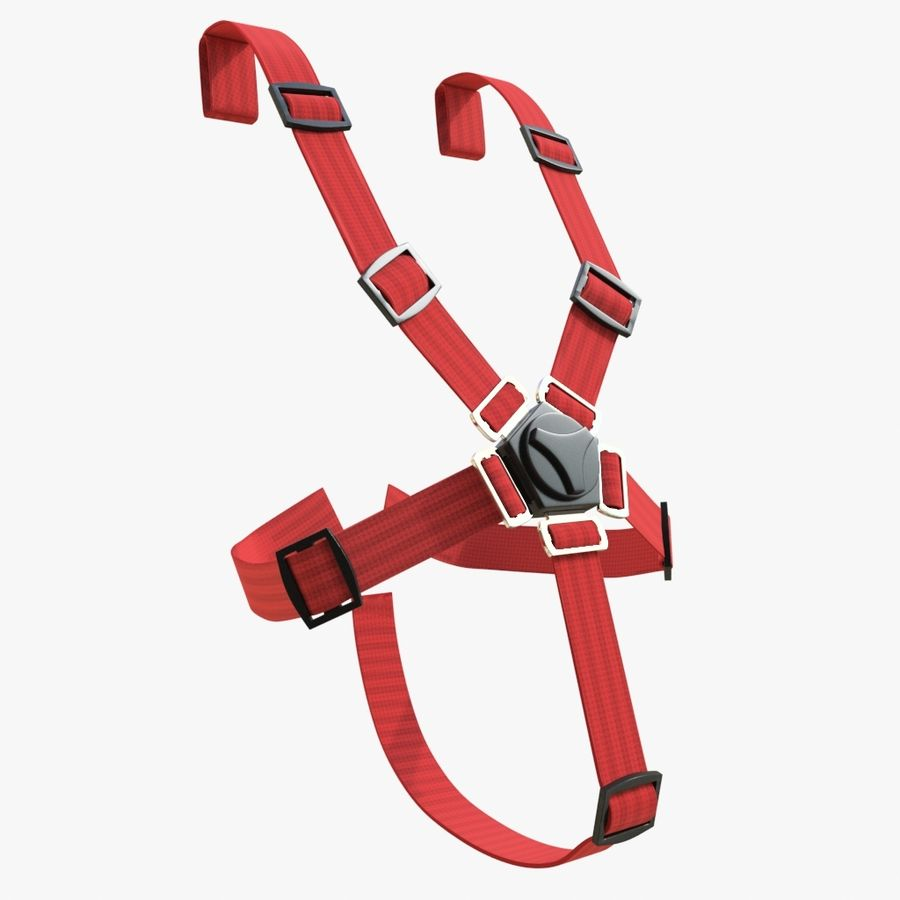 Safety Belts 01 royalty-free 3d model - Preview no. 1