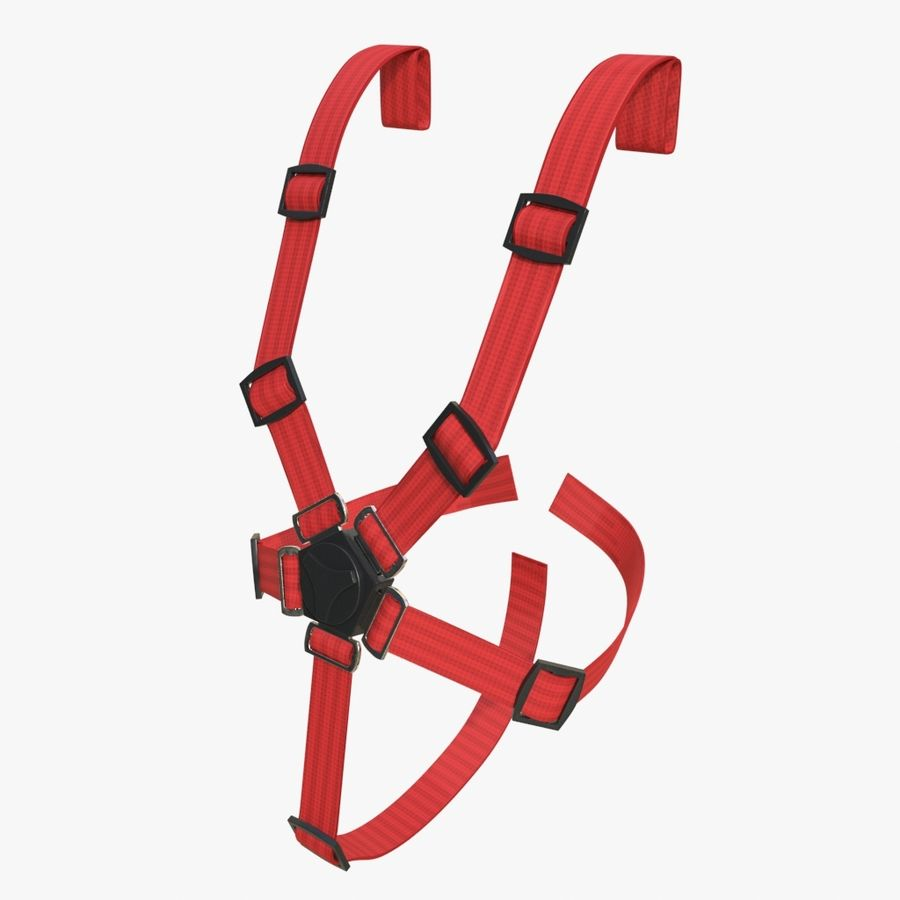 Safety Belts 01 royalty-free 3d model - Preview no. 3