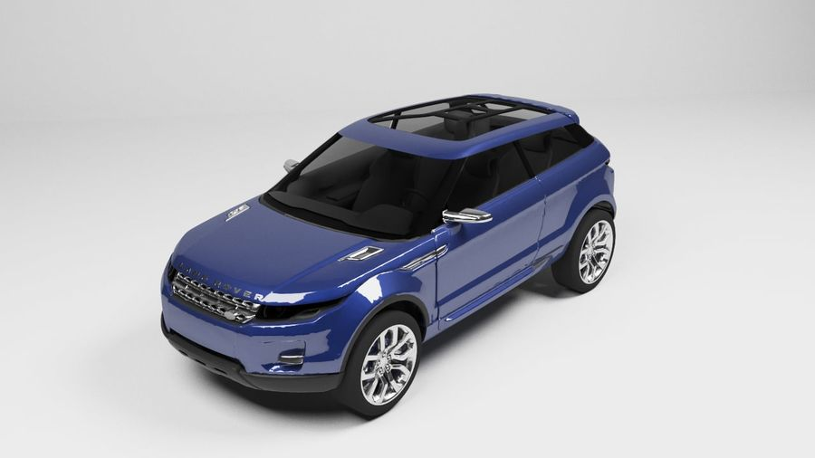 Land Rover royalty-free 3d model - Preview no. 1