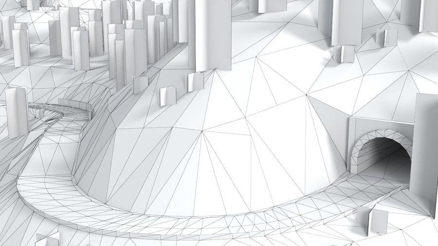 Tepe Yarışı Pisti royalty-free 3d model - Preview no. 24