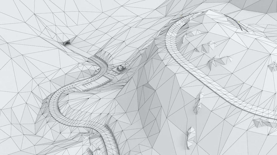 Tepe Yarışı Pisti royalty-free 3d model - Preview no. 30